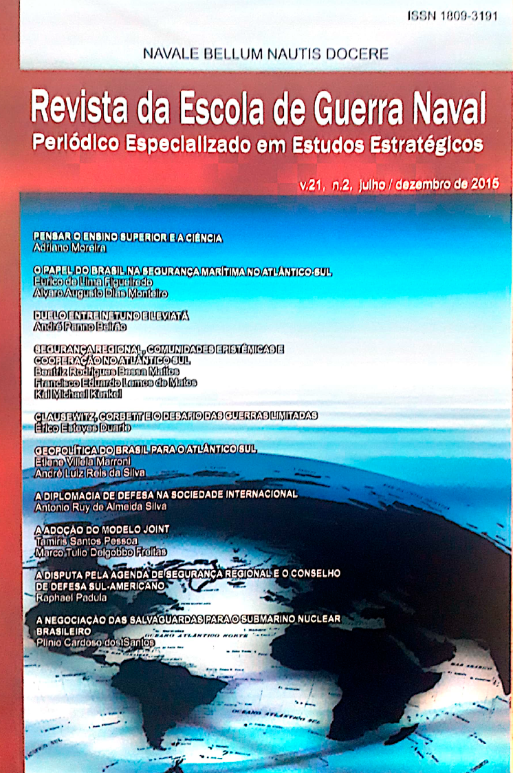 JOURNAL OF THE BRAZILIAN NAVAL WAR COLLEGE